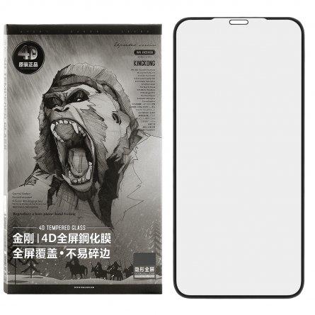 Защитное стекло iPhone XS Max/11 Pro Max WK Kingkong4 Black 0.25mm
