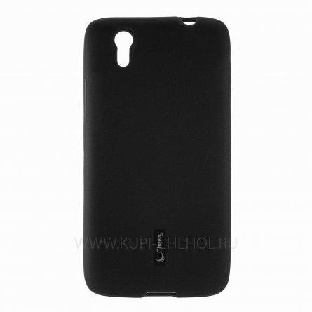 Чехол силиконовый Lenovo Vibe X S960 Cherry чёрный