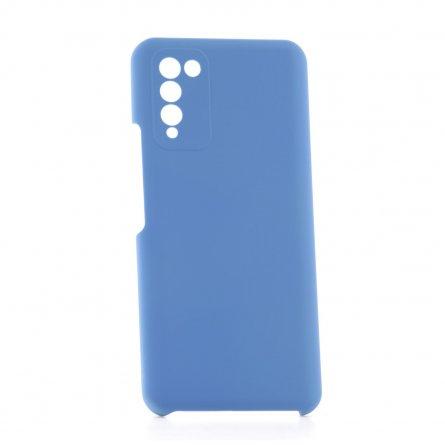 Чехол-накладка Huawei Honor 10X Lite Derbi Slim Silicone-2 голубой