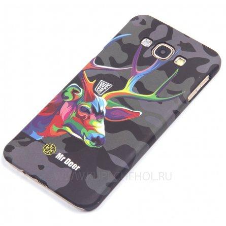 Чехол-накладка Samsung Galaxy A8 A800f Mr.Deer 8753 фосфор