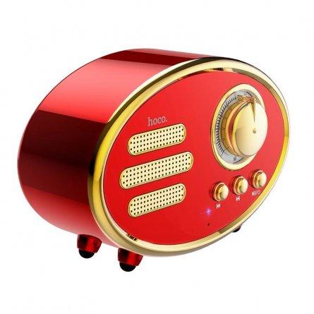 Колонка Bluetooth Hoco Red