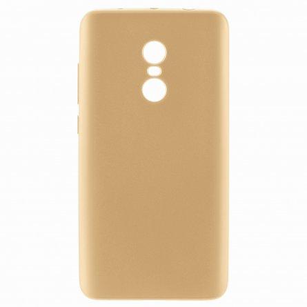Чехол-накладка Xiaomi Redmi Note 4 / 4 Pro J-Case 126 золотой 0.5mm