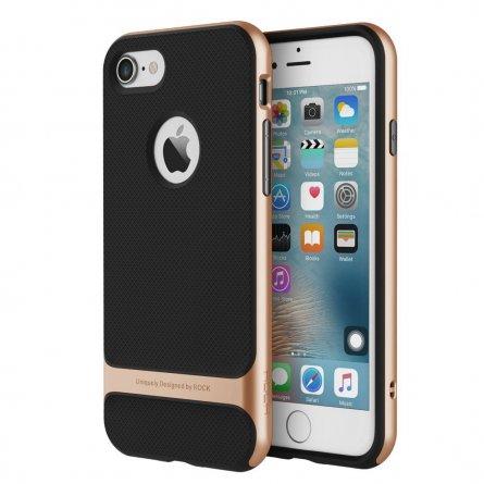 Чехол-накладка Apple iPhone 7 Rock Royce П43089 бронзовый