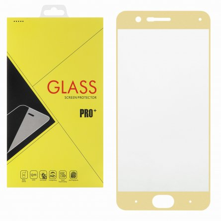 Защитное стекло Xiaomi Mi Note 3 Glass Pro Full Screen золотое 0.33mm