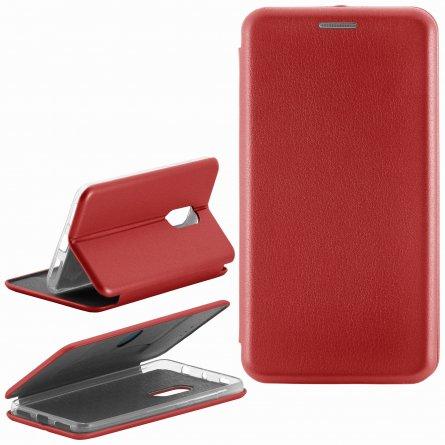 Чехол книжка Xiaomi Redmi Note 4/4 Pro Fashion Case с визитницей красный
