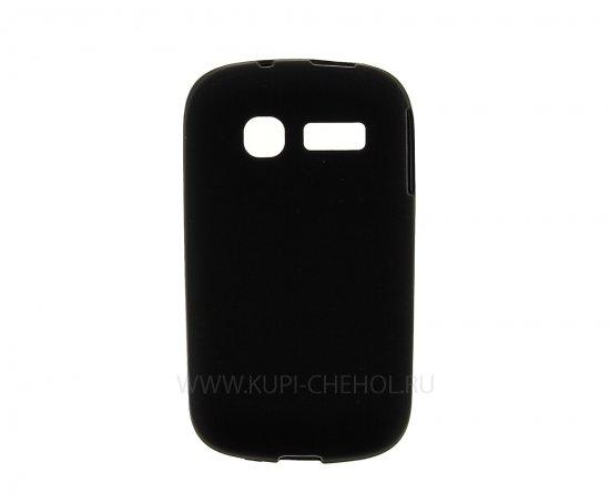 Чехол-накладка Alcatel One Touch 4015D чёрный матовый