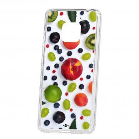 Чехол-накладка Huawei Mate 20 Pro Kruche Print Fruits