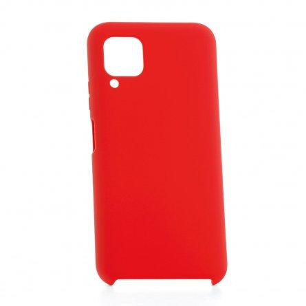 Чехол-накладка Huawei P40 Lite Derbi Slim Silicone-2 красный