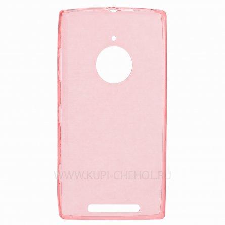 Чехол силиконовый NOKIA 830 Lumia красный глянцевый 0.5mm