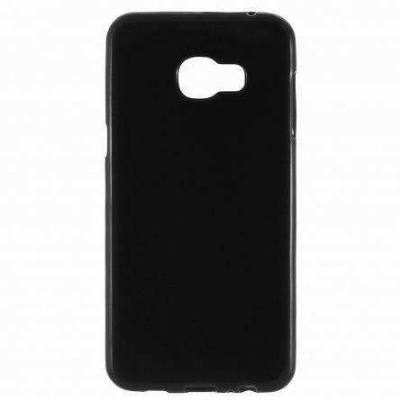 Чехол-накладка Samsung C5 П19026 черный глянцевый