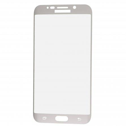 Защитное стекло Samsung Galaxy S6 Edge+ G928 Ainy Full Screen Cover 3D белое 0.22mm