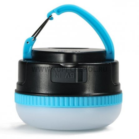Power Bank 3000 mA Remax Ye RPL-17 + фонарь голубой