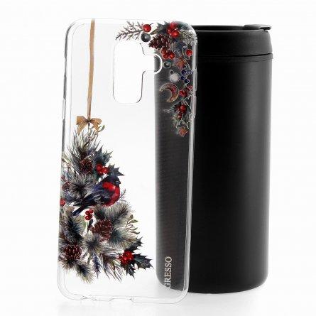 Чехол-накладка Samsung Galaxy A6 Plus (2018) A605f/J8 2018 Gresso Рождество