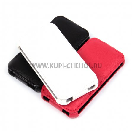 Чехол флип Samsung Galaxy J1 mini 2016 1358 красный