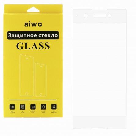 Защитное стекло Sony Xperia XA1 Plus Aiwo Full Screen белое 0.33mm