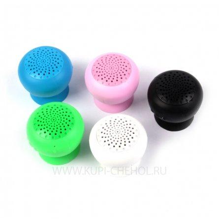 Колонка-присоска Bluetooth 024501 синий
