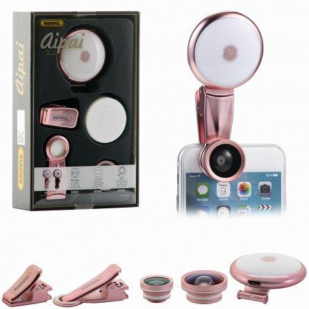 Комплект для селфи Remax Aipai Rose gold