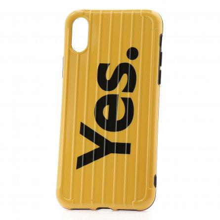 Чехол-накладка Apple iPhone X Yes. Yellow