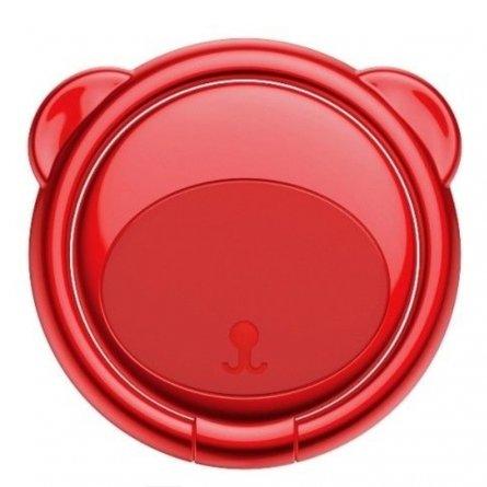 Кольцо-держатель Baseus Bear Subr-09 Red