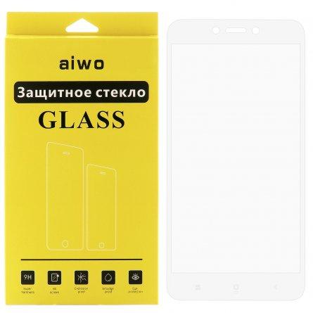 Защитное стекло Xiaomi Redmi 5A Aiwo Full Screen белое 0.33mm