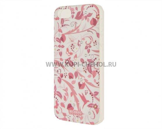 Чехол-накладка Apple iPhone 5/5S/SE Beckberg GL-18 со стразами