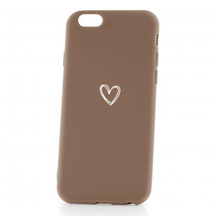 Чехол-накладка Apple iPhone 6/6S 33001 Love Brown